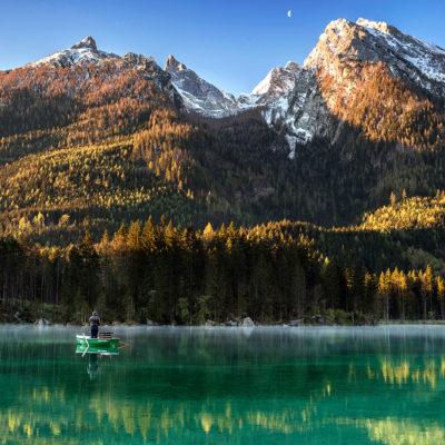 Hintersee Lake, Bavaria, Germany