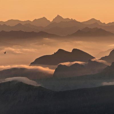 The Aviator, Dolomites, Italy