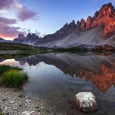 Monte Paterno, Dolomites, Italy