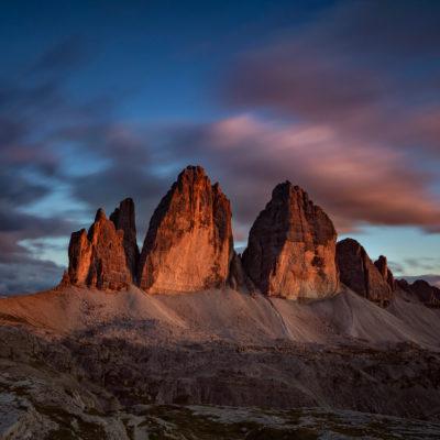 Tre Cime, Dolomites, Italy