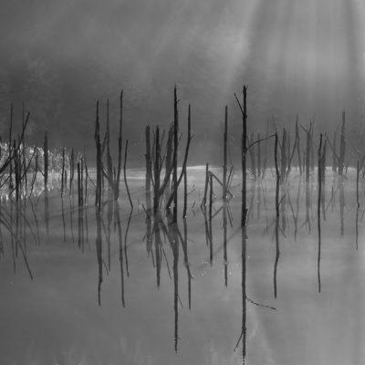 Lacul Cuejdel, judetul Neamt, Romania
