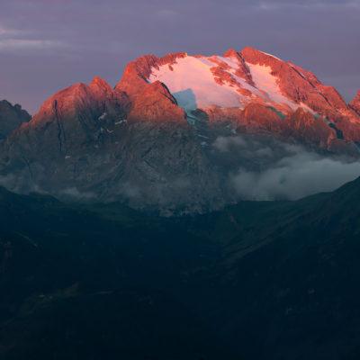 Marmolada, Dolomites, Italy